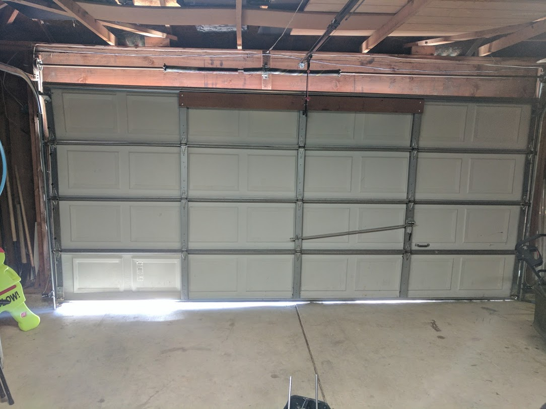 door the garador snapped garage cables adjust replacement henderson replace instructions repair ideas replacing best off length came drum install cable