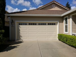 updated garage door installation