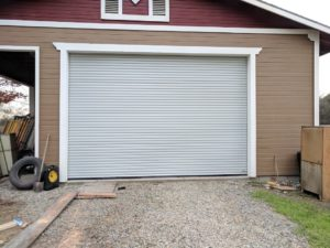 commercial roll-up garage door